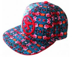 casquette-flores-floral-mode-latino