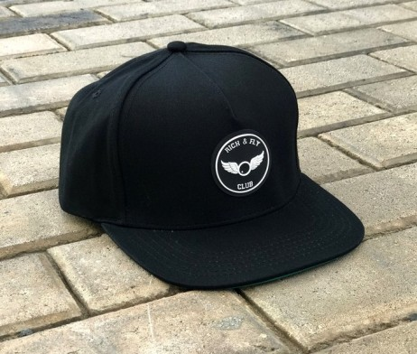 rich-fly-3d-rubber-patch-black-snapback-2