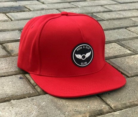 rich-fly-3d-rubber-patch-red-snapback-2