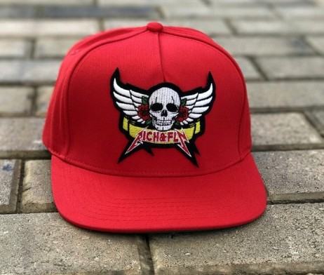 rich-fly-skull-roses-red-snapback-2