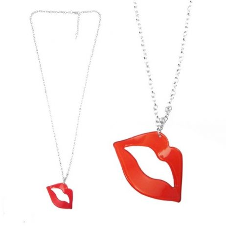 collier fantaisie kiss me
