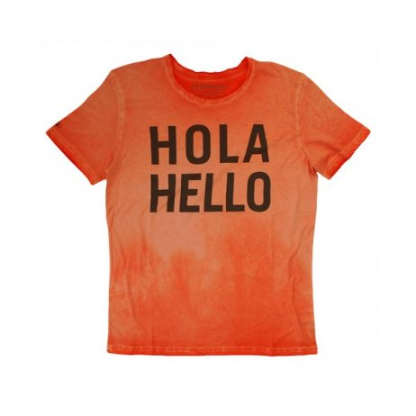 tee-shirt-latino-hola-hello-orange
