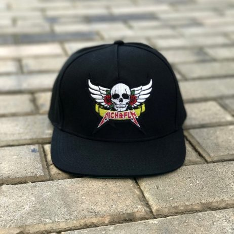 rich-fly-skull-roses-black-snapback
